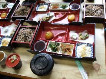 6/24 昼食 御嶽そばと彩り膳