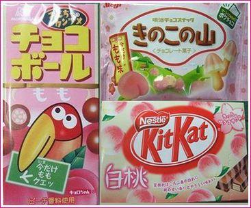桃のお菓子