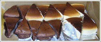 sweetさんお手製のケーキ