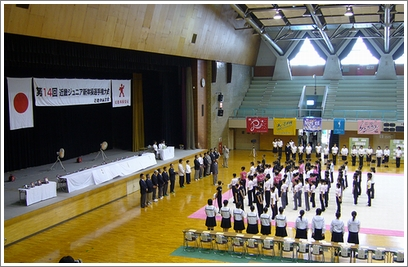 近畿ジュニア開会式