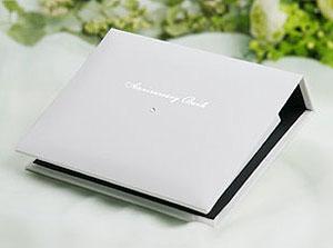 花嫁準備日記 カード式ゲストブック