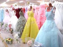 埼玉県民共済のウェディングドレス