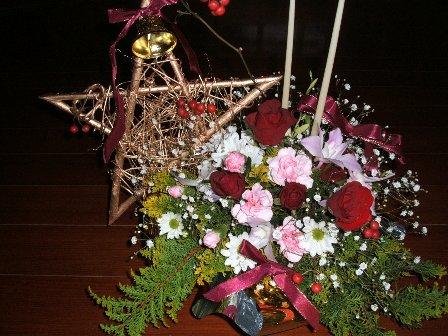アレンジメント_クリスマス