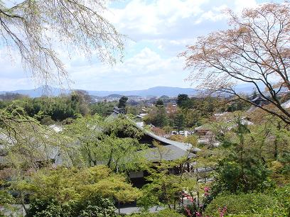 天龍寺・望郷の丘