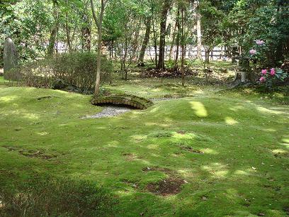 野宮神社・苔の庭園