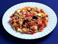 スペルト小麦のサラダ