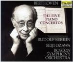 ベートーヴェン:ピアノ協奏曲全集(ゼルキン)