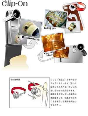 携帯レンズ