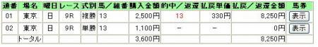 4.21東京9R