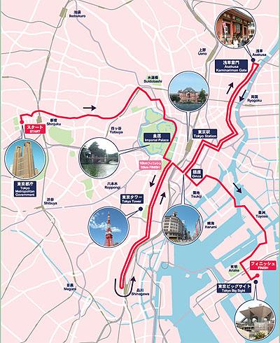 tokyo run map
