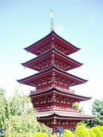 日本最北・弘前最勝院の五重塔:上演を前に塔内にも入れていただきました