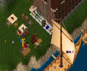 海賊酒場の準備