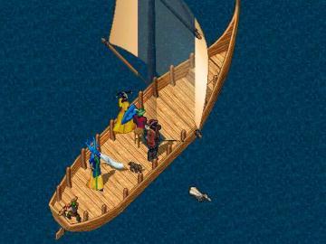 船に乗って捜しに行こう。
