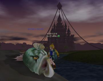 川のヌシ釣り