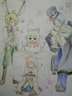 アリスのお茶会