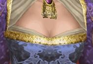 貴婦人さん胸元