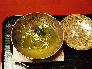「菊の井」煮物椀-グルメレポーター修行の日々-