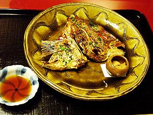 「菊の井」焼肴-グルメレポーター修行の日々-