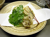 湯葉包み揚げ 創作豆腐料理「こんどう」-グルメレポーター修行の日々-