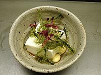 海ぶどうと豆腐のサラダ 創作豆腐料理「こんどう」-グルメレポーター修行の日々-