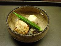 飛龍頭と季節の野菜の炊き合わせ 創作豆腐料理「こんどう」-グルメレポーター修行の日々-
