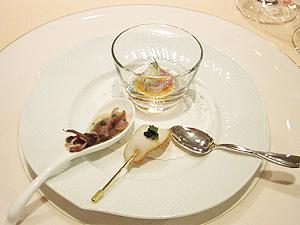 レストラン・アッシュ(冷たいオードブル1)-グルメレポーター修行の日々-