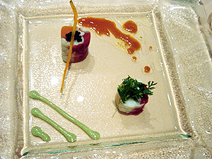 レストラン・アッシュ(冷たいオードブル2)-グルメレポーター修行の日々-