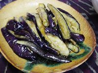 ロハス生活 茄子の炒め物-グルメレポーター修行の日々-