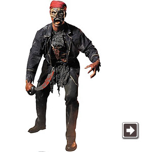 ゾンビ海賊 ハロウィン 衣装