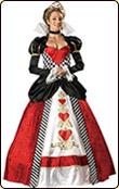 ハートの女王様 ハロウィン衣装