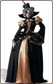 呪われた女王様 ハロウィン衣装