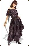 黒ドレスの海賊 ハロウィン衣装