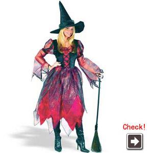 魔女 ハロウィン衣装