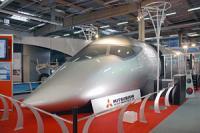 三菱リージョナル・ジェット(MRJ)モックアップ