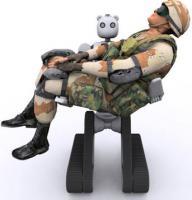 兵士を抱くBEAR