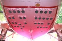 P-X後部胴体のソノブイ・ランチャー口