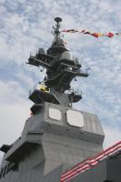 DDH-181ひゅうがの艦橋クローズアップ