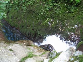 遡行⑤高巻した滝