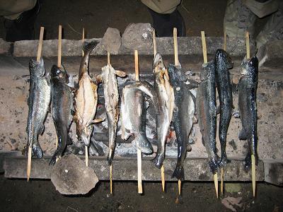 焼いた釣果