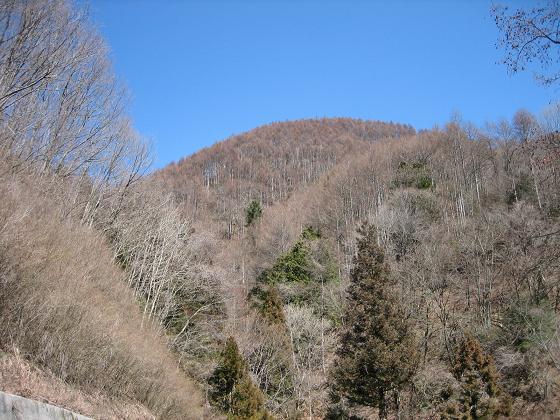 帰路(横川の空と山)