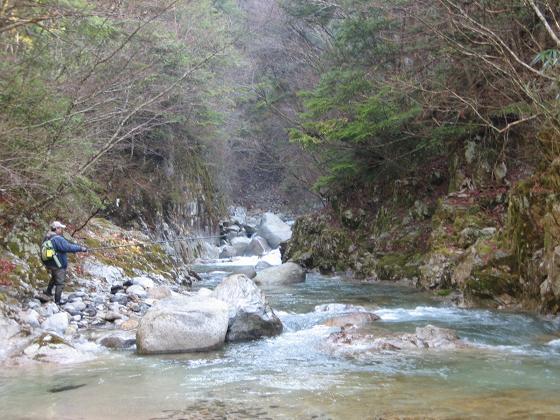 黒川の渓相2