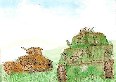 「9番目の戦車」一部