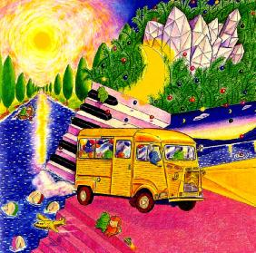 「夢の車」一部