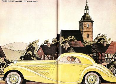 MERCEDES-BENZ Type-320 1937 from catalogue