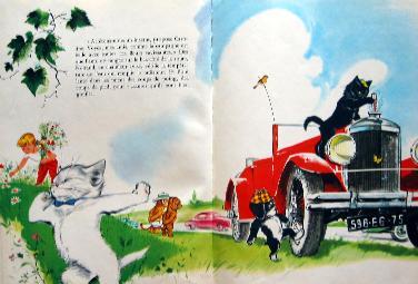 「L'automobile de Caroline」一部