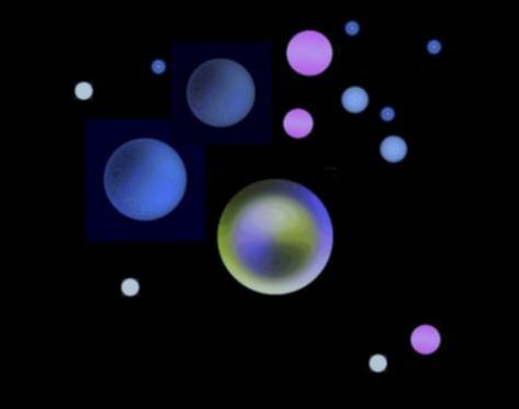 惑星天体図