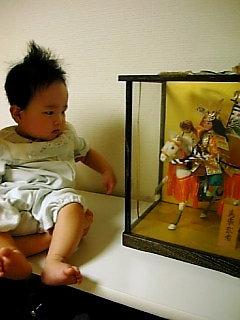 パパの五月人形