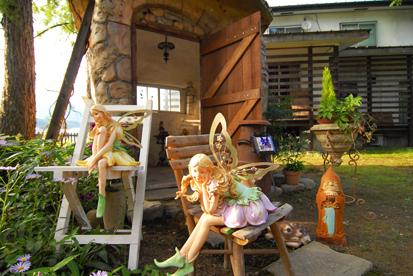 妖精と妖精の家