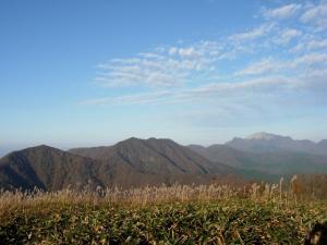 20061104下蒜山山頂から-大山
