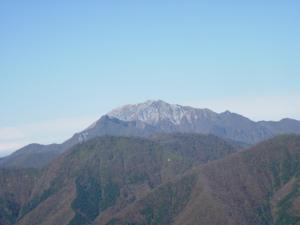 20061104上蒜山八合目から大山アップ
